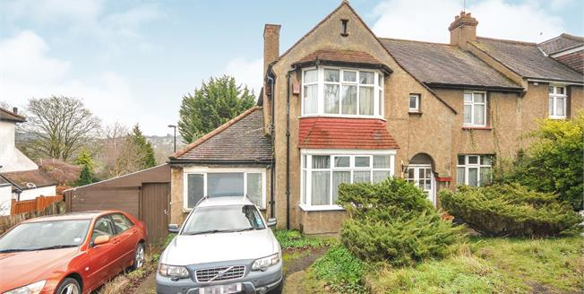 Offers in the region of £550,000, 4 Bedroom Semi Detached House For Sale in South Croydon, CR2