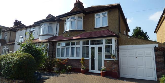 Asking Price £550,000, 3 Bedroom Semi Detached House For Sale in Croydon, CR0