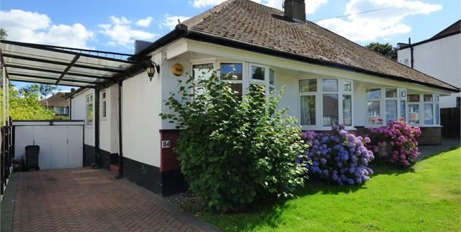 Asking Price £525,000, 3 Bedroom Semi Detached Bungalow For Sale in Croydon, CR0