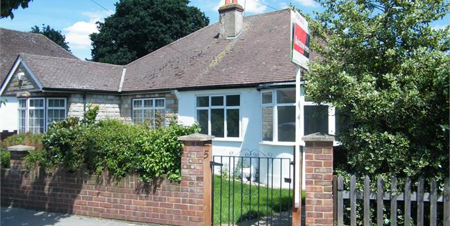 Asking Price £450,000, 3 Bedroom Semi Detached Bungalow For Sale in Croydon, CR0