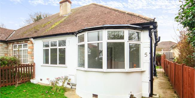 Asking Price £475,000, 3 Bedroom Semi Detached Bungalow For Sale in Croydon, CR0