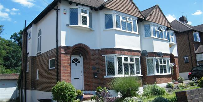 Offers in excess of £480,000, 3 Bedroom Semi Detached House For Sale in Croydon, CR0