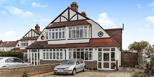 Offers in excess of £465,000, 4 Bedroom Semi Detached House For Sale in Croydon, CR0