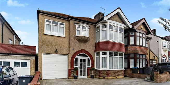 Offers in the region of £625,000, 4 Bedroom Semi Detached House For Sale in Croydon, CR0