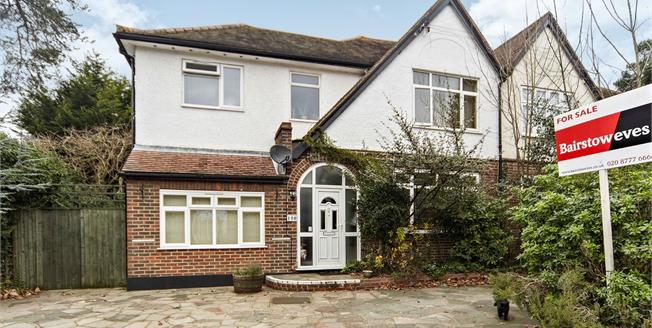 Asking Price £575,000, 5 Bedroom Semi Detached House For Sale in Croydon, CR0