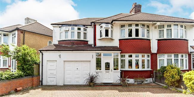 Offers in excess of £500,000, 4 Bedroom Semi Detached House For Sale in Croydon, CR0