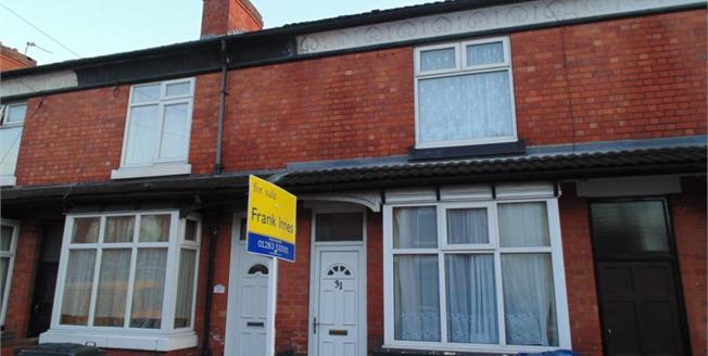 Asking Price £90,000, 2 Bedroom Terraced House For Sale in Burton-on-Trent, DE14