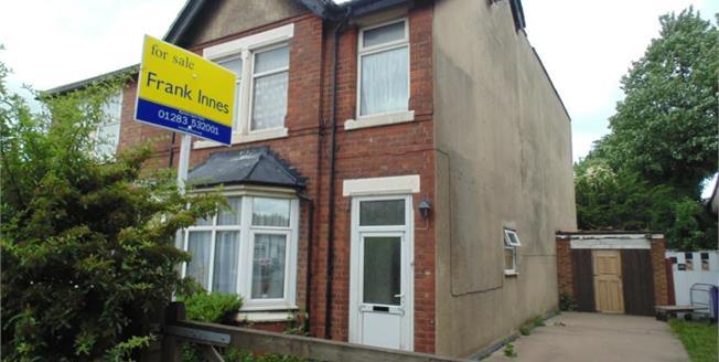 Offers Over £160,000, 5 Bedroom Semi Detached House For Sale in Burton-on-Trent, DE13