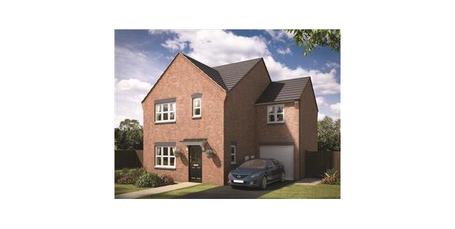 £253,995, 4 Bedroom Detached House For Sale in Burton On Trent, DE14