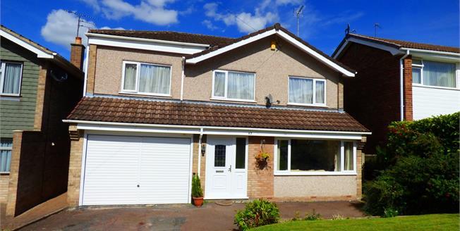 Guide Price £220,000, 4 Bedroom Detached House For Sale in Burton-on-Trent, DE15