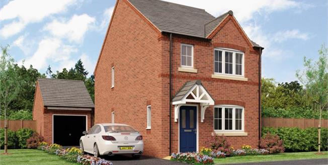 Asking Price £260,000, 3 Bedroom Detached House For Sale in Repton, DE65