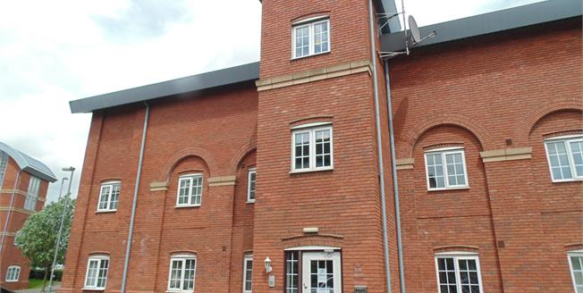 Asking Price £110,000, 2 Bedroom Flat For Sale in Burton-on-Trent, DE14