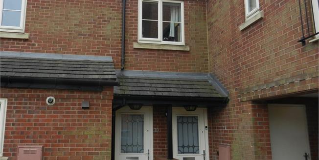 Guide Price £110,000, 2 Bedroom Maisonette For Sale in Woodville, DE11