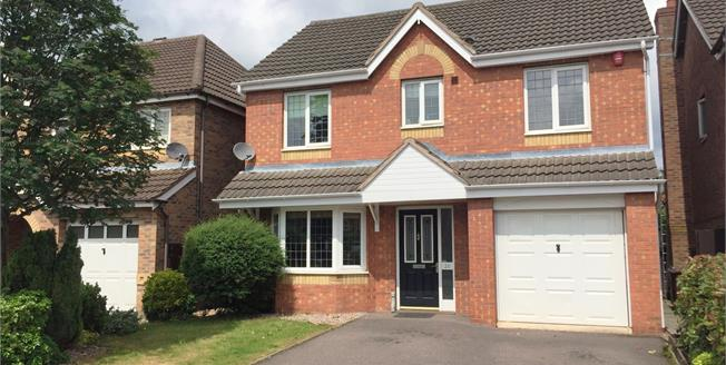 Guide Price £210,000, 4 Bedroom Detached House For Sale in Burton-on-Trent, DE14