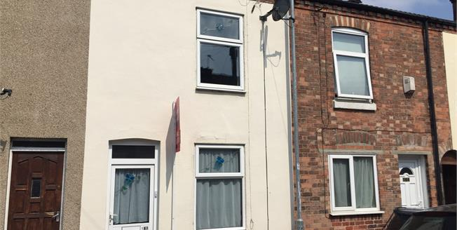 Guide Price £80,000, 2 Bedroom Terraced House For Sale in Burton-on-Trent, DE14