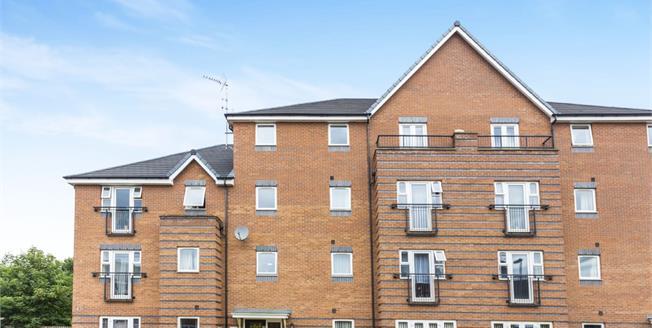Guide Price £90,000, 2 Bedroom Flat For Sale in Burton-on-Trent, DE14