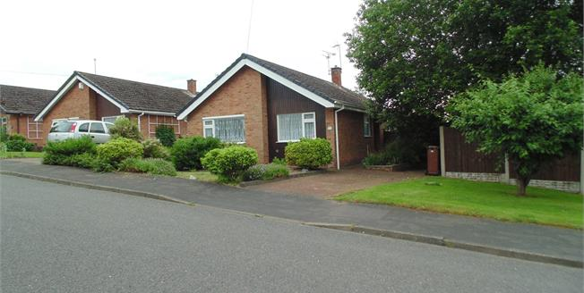 Asking Price £200,000, 3 Bedroom Detached Bungalow For Sale in Burton-on-Trent, DE15