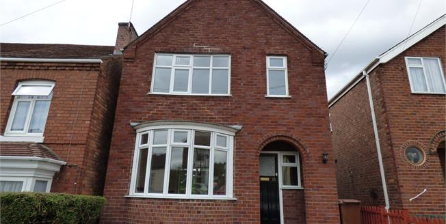 Asking Price £160,000, 3 Bedroom Detached House For Sale in Burton-on-Trent, DE15