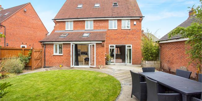 Guide Price £300,000, 5 Bedroom Detached House For Sale in Church Gresley, DE11
