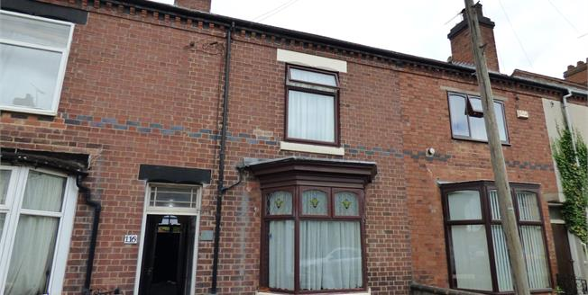 Asking Price £140,000, 3 Bedroom Terraced House For Sale in Burton-on-Trent, DE13