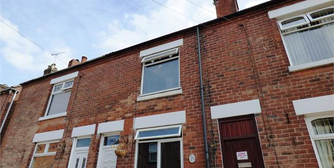 Offers Over £95,000, 3 Bedroom Terraced House For Sale in Church Gresley, DE11