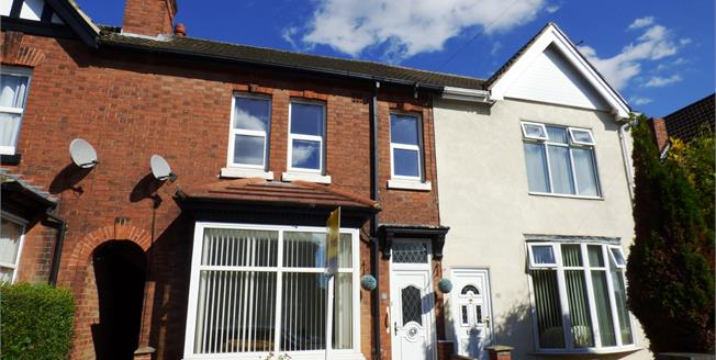 Guide Price £170,000, 4 Bedroom Terraced House For Sale in Burton-on-Trent, DE13
