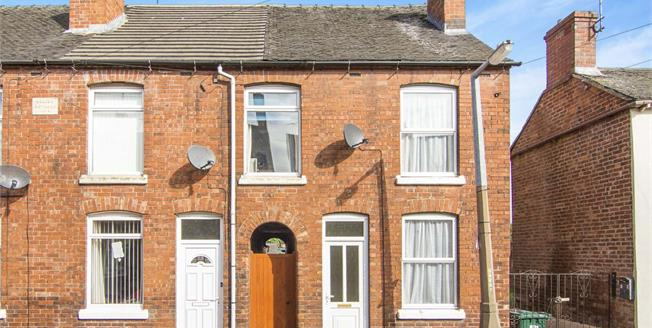 Asking Price £105,000, 3 Bedroom End of Terrace House For Sale in Newhall, DE11