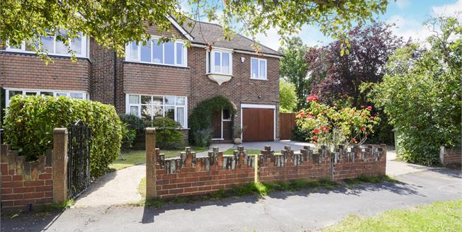 Offers in excess of £850,000, 4 Bedroom Semi Detached House For Sale in Esher, KT10