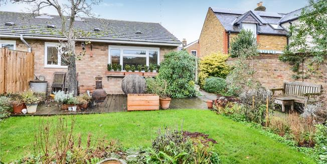 Guide Price £435,000, 2 Bedroom Semi Detached Bungalow For Sale in Esher, KT10