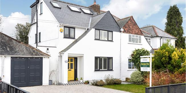 Asking Price £1,189,000, 4 Bedroom Semi Detached House For Sale in Esher, KT10
