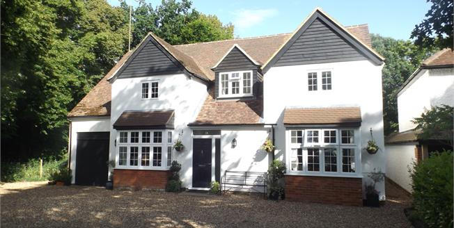 Asking Price £1,200,000, 5 Bedroom Detached House For Sale in Lower Bourne, GU10