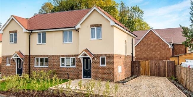 Asking Price £499,950, 3 Bedroom Semi Detached House For Sale in Farnham, GU10