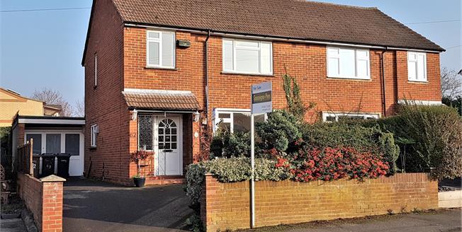 Asking Price £370,000, 3 Bedroom Semi Detached House For Sale in Farnham, GU9