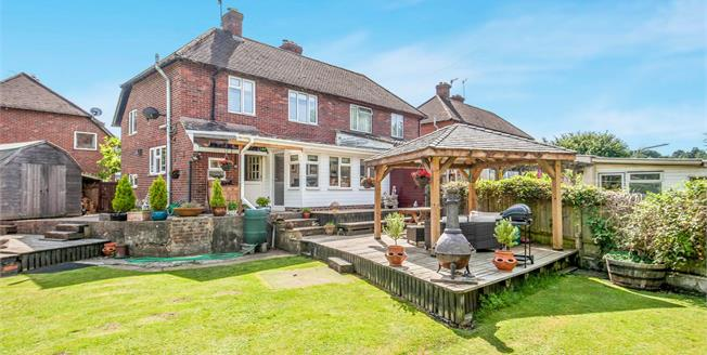 Asking Price £399,999, 2 Bedroom Semi Detached House For Sale in Godalming, GU7
