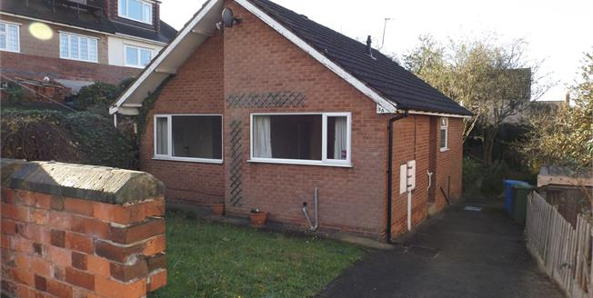 Guide Price £120,000, 2 Bedroom Detached Bungalow For Sale in Chesterfield, S41