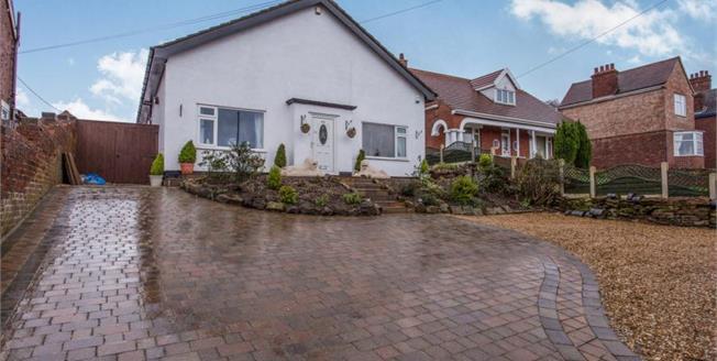 £240,000, 3 Bedroom Detached Bungalow For Sale in Brimington, S43