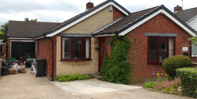 Guide Price £170,000, 3 Bedroom Detached Bungalow For Sale in Inkersall, S43