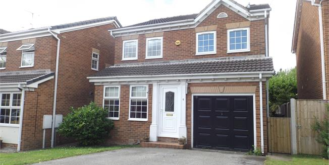 Guide Price £270,000, 4 Bedroom Detached House For Sale in Chesterfield, S41