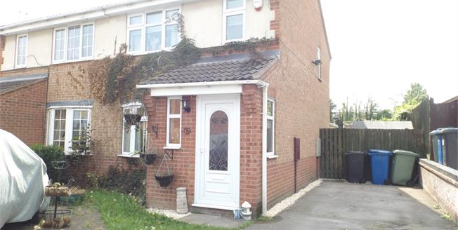 Guide Price £130,000, 3 Bedroom Semi Detached House For Sale in Hollingwood, S43