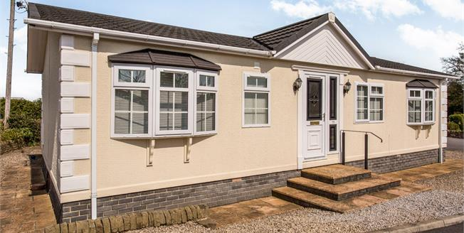 Guide Price £100,000, 2 Bedroom Mobile Home For Sale in Old Tupton, S42