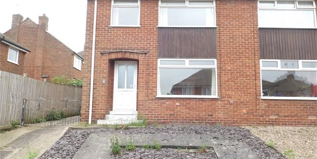 Guide Price £115,000, 3 Bedroom Semi Detached House For Sale in Chesterfield, S40