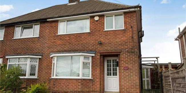 Asking Price £125,000, 3 Bedroom Semi Detached House For Sale in Grassmoor, S42