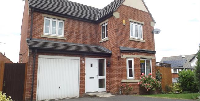 Asking Price £220,000, 4 Bedroom Detached House For Sale in Doe Lea, S44