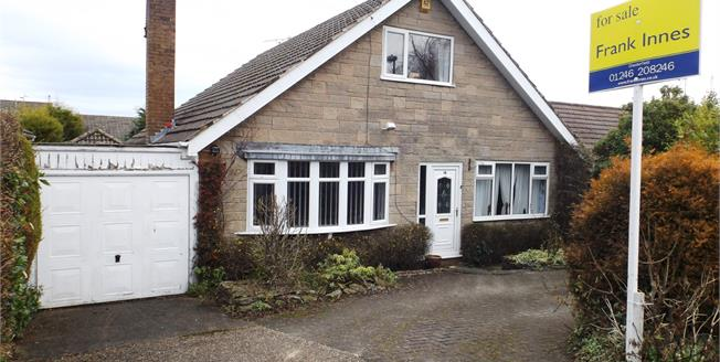 Asking Price £275,000, 3 Bedroom Detached Bungalow For Sale in Wingerworth, S42