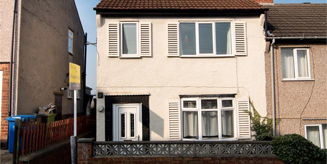 Asking Price £110,000, 2 Bedroom Semi Detached House For Sale in Brimington, S43