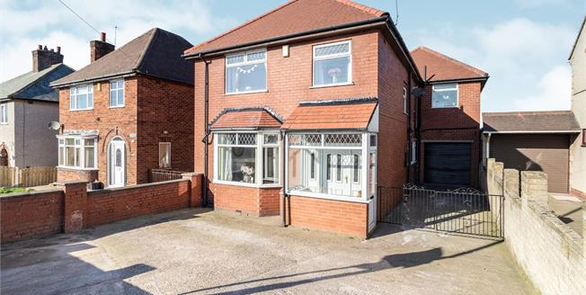 Offers Over £290,000, 4 Bedroom Detached House For Sale in Glapwell, S44