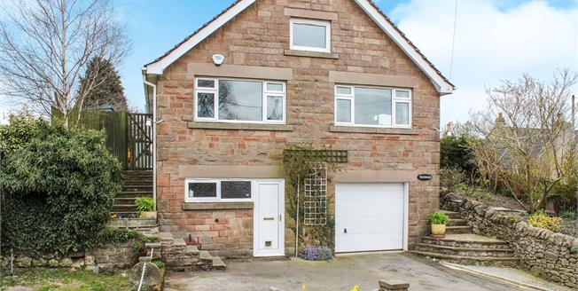 Guide Price £325,000, 3 Bedroom Detached House For Sale in Bonsall, DE4
