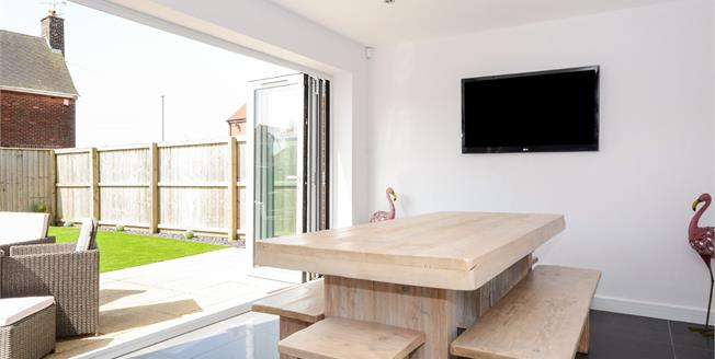 Guide Price £280,000, 4 Bedroom Detached House For Sale in Glapwell, S44
