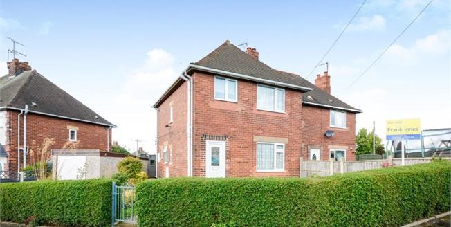 £125,000, 3 Bedroom Semi Detached House For Sale in Mastin Moor, S43