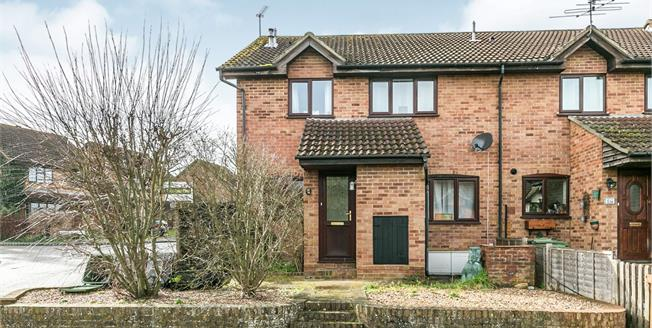 Asking Price £315,000, 2 Bedroom End of Terrace House For Sale in Guildford, GU4